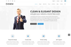 Ecom - Multipurpose HTML Template