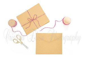 Valentine's Day Mockup envelope