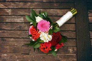 Luxury bouquet of flowers