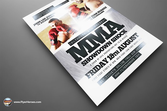 Showdown Flyer Templates Psd Format Download Showdown Flyer Template ...