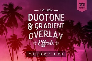 Gradient Photoshop Actions