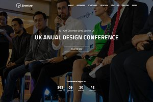 EVENTURA - Your Event HTML5 Template