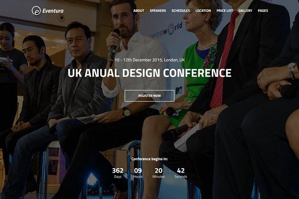 EVENTURA - Your Event HTML5 Templat…