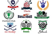 Competition sports icons