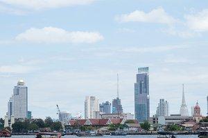 Bangkok Riverside daytime
