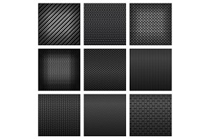 Carbon and fiber texture seamless pa