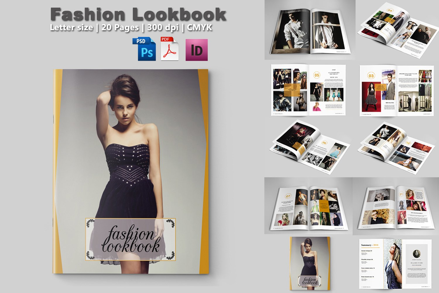 Fashion Designer Lookbook Pdf