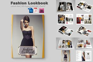 Fashion Magazine Template-V329