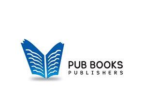 Pub Books Logo Template