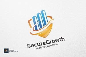 Secure Growth / Chart - Logo
