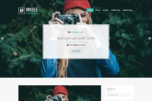 Milele | Fullscreen Header WP Theme