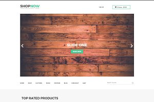 Shopnow | Woocommerce+Bootstap Theme