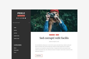 Perle | Content Focused Blog Theme