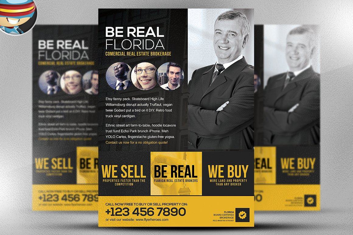 be real flyer template flyer templates on creative market