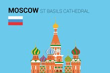 St Basils Cathedral, Moscow (Russia)