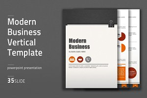 Modern Business Vertical Template