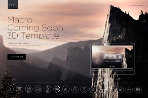 Macro - Coming Soon 3D Template