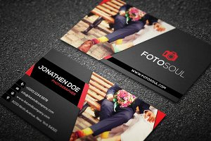 Photography business card #12