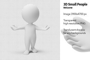 3D Small People - Welcome