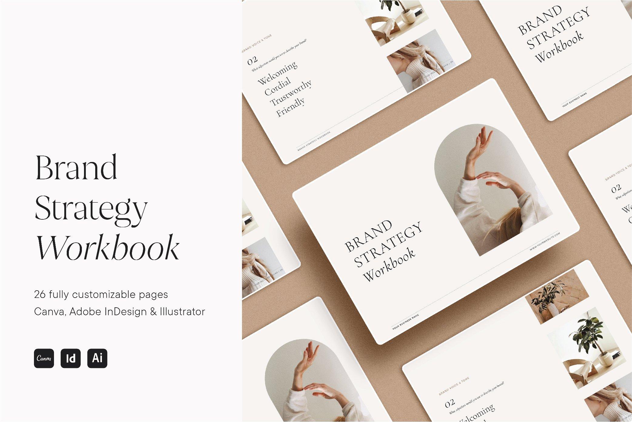 Brand Strategy Workbook Creative Other Presentation Software Templates Creative Market