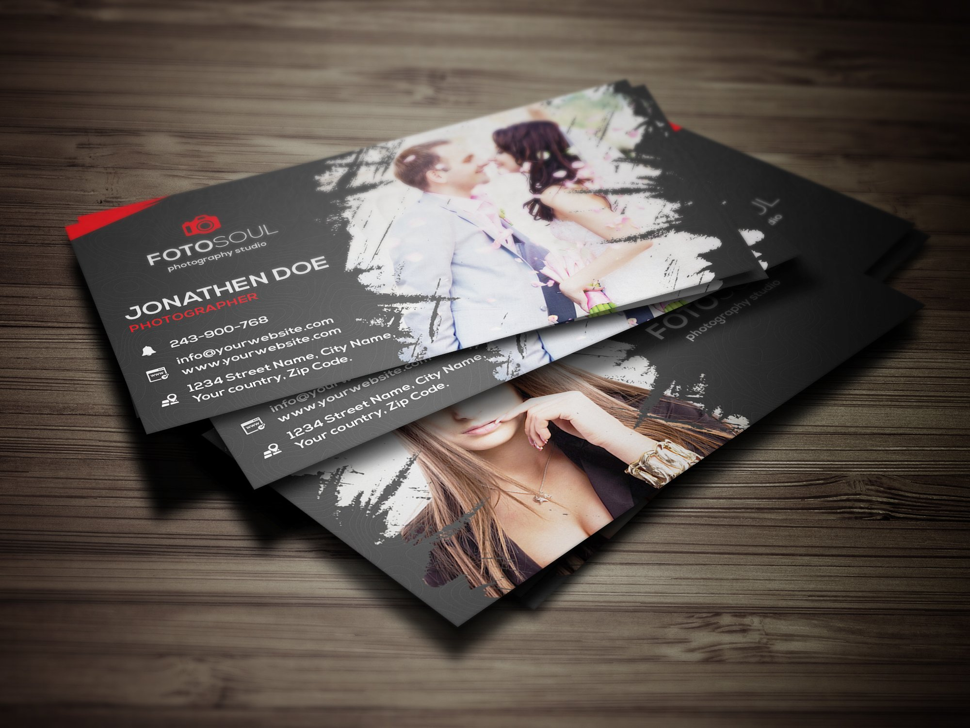 Photography business card #13 ~ Business Card Templates ~ Creative ...