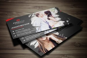 Photography business card #13