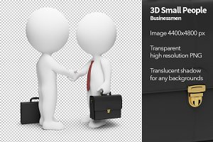 3D Small People - Businessmen