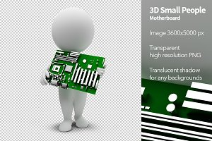 3D Small People - Motherboard