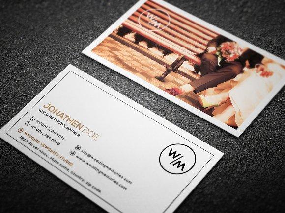 Wedding Photography Business Card 14 Templates Creative Market