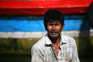 Fisherman in Mirissa