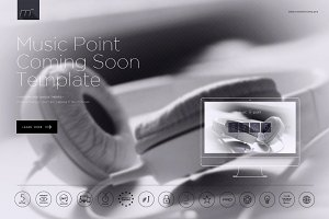 Music Point Coming Soon Template