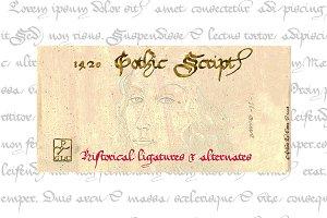 1420 Gothic Script OTF