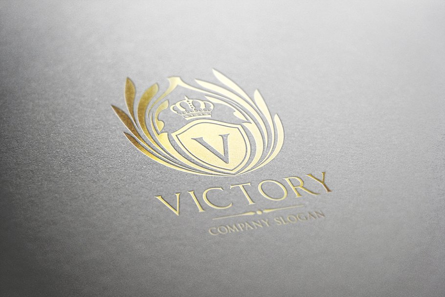 Victory Logo Template in Logo Templates - product preview 1