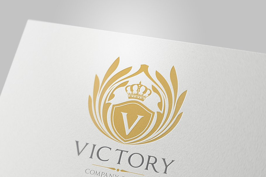 Victory Logo Template in Logo Templates - product preview 2