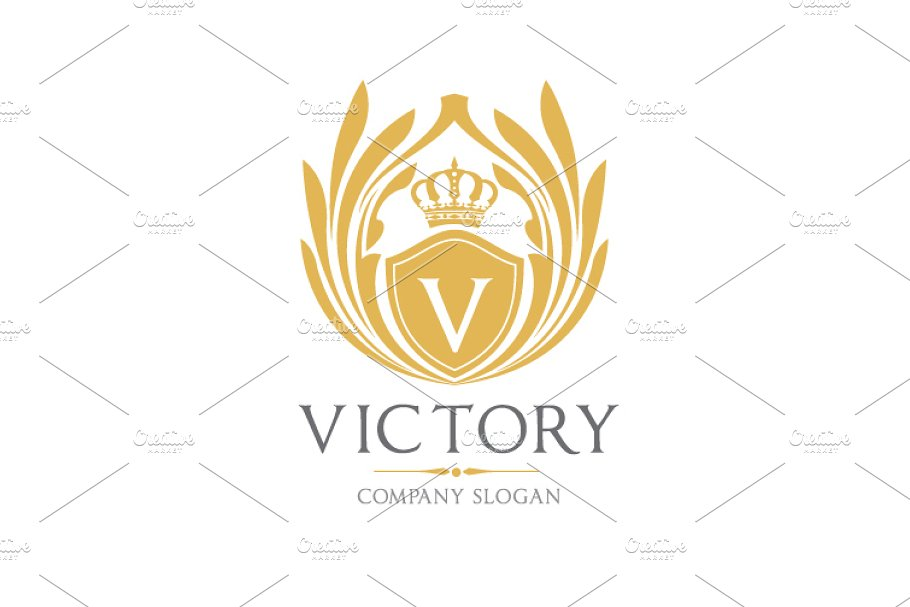 Victory Logo Template in Logo Templates - product preview 3