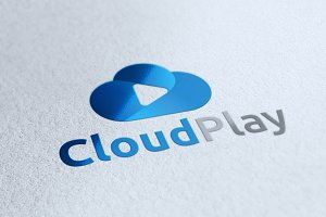 Cloud Play Logo Template