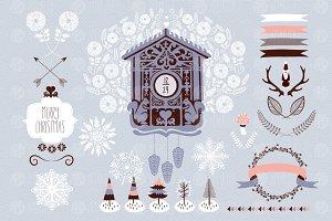 Winter cuckoo clock