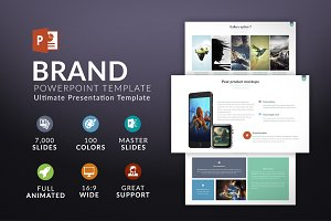 Brand | Powerpoint template