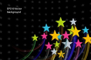 Stars Abstract Background