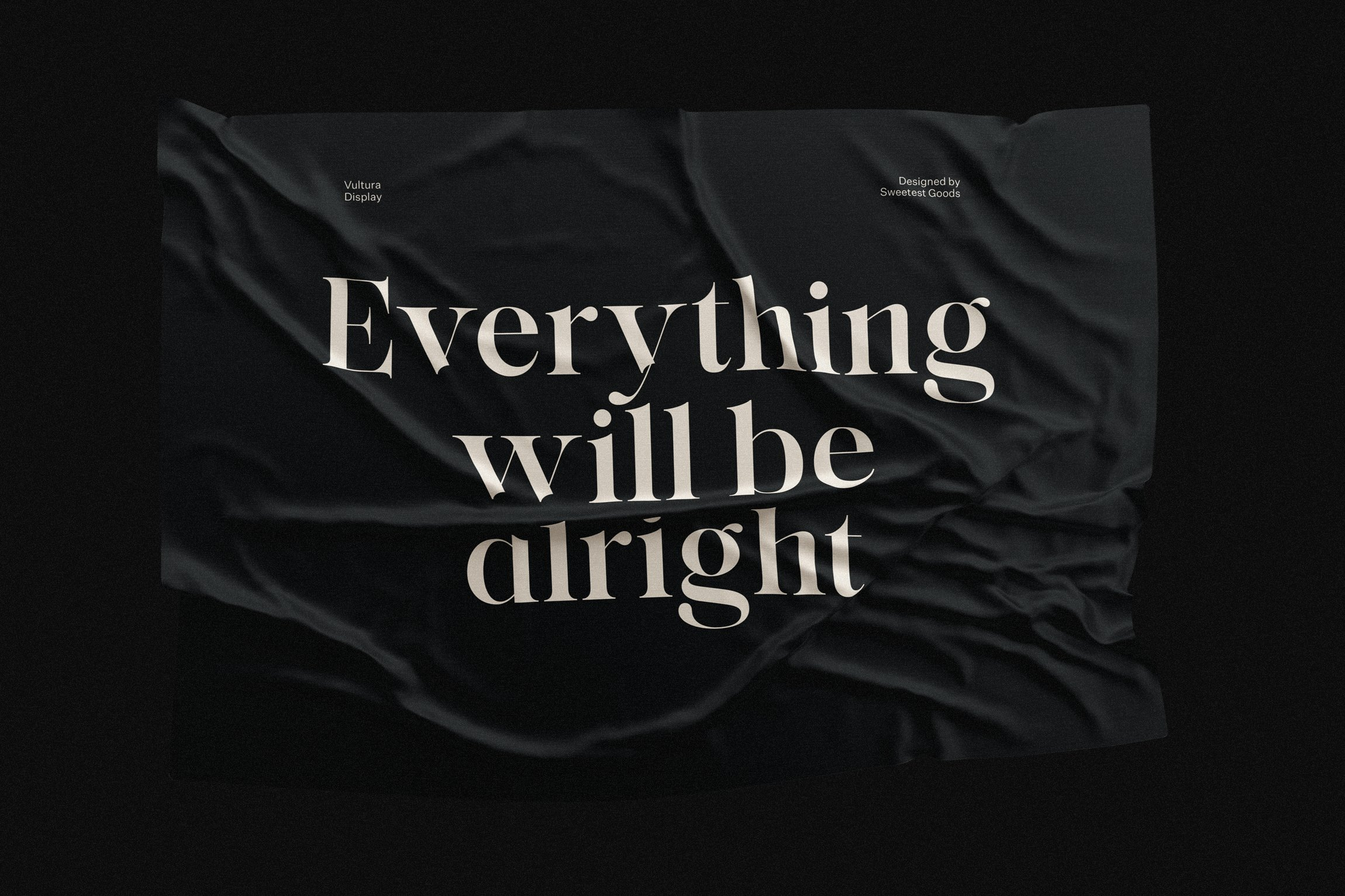 vultura font free logos sweetest goods business quote everything alright 11