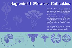 Jugendstil Flowers Collection