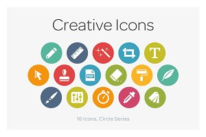 Circle Icons: Creative