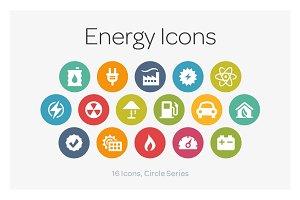 Circle Icons: Energy
