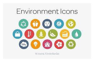 Circle Icons: Environment