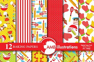 Baking Digital Papers, AMB-1109