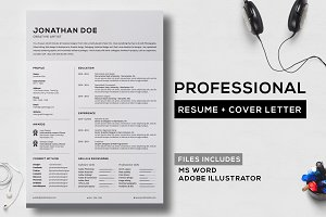 Professional Resume + Cover Letter 6