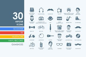 30 hipster icons