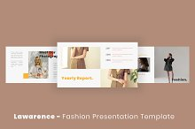 Lawrence Keynote Template by  in Presentations