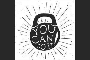 Motivational illustration