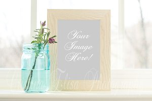 Styled Stock Photo 5x7 Frame Mockup